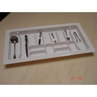 Porta Talheres-15Divisões 10193.00BRO-Branco 97(88,5)x51(43)cm