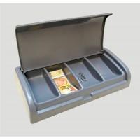 Caixa Troco Cobrador Micro C/4 Cédulas