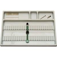 Bandeja Dental Auxiliar 30101.00BRO Med:34,5x25,5cm