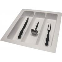 Porta-Conchas 3Divisões 10166.00BRW-Branco 46,2(39,3)x49,5(43.5)cm