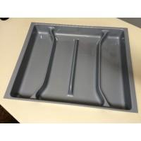 Porta-Conchas-4Divisões 10169.00AGO-Prata 56,5(50)x49,5(42,5)cm