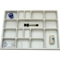Bandeja Dental medicamento 30210.00BRO Med:40cmx30cm