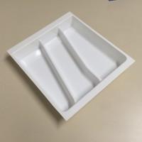 Porta Conchas-3Divisões 10175.07BRO-Branco Med:38(30,5)x38(30,5)cm