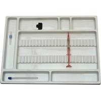 Bandeja Dental instrumentos 30200.00BRO Med:40cmx30cm