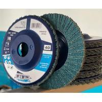 """FLAP DISC HOBBY NYLON RETO-115x22mm-(4 1/2"""" x 7/8"""")-grana 40"""