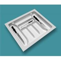Porta Talheres 7 Divisões 10155.00BRO-Branco 56,5(50,5)x50(42,5)cm